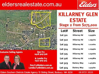 Lot 524 Slattery Way, Dardanup West